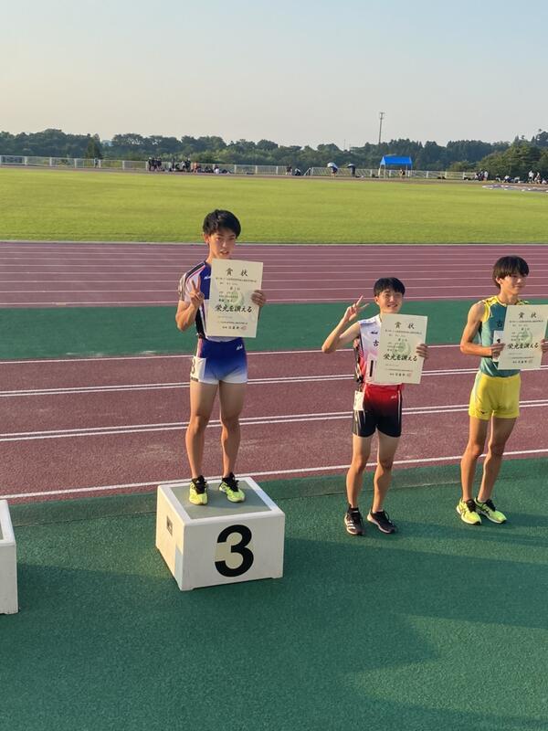 男子400M 第3位 齋藤優太